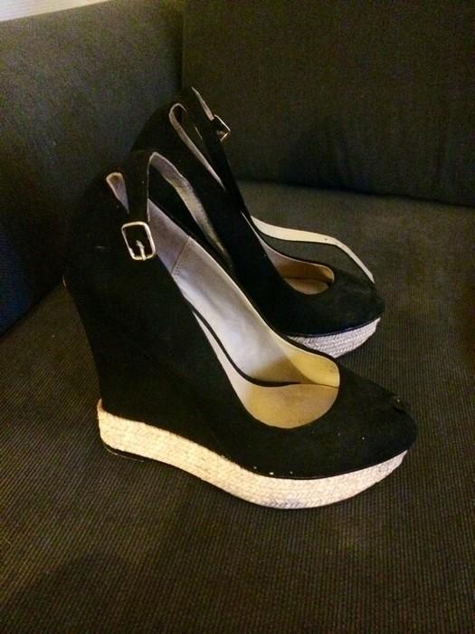 Chaussure compensée zara