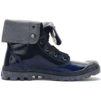 Boots bleu femme