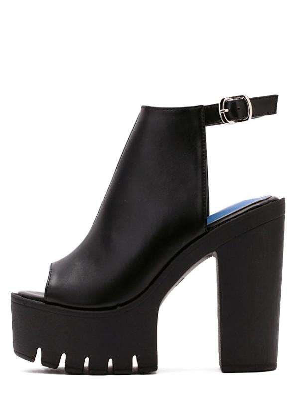 Chaussure compensé anglais
