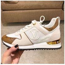 Louis vuitton velvet sneakers