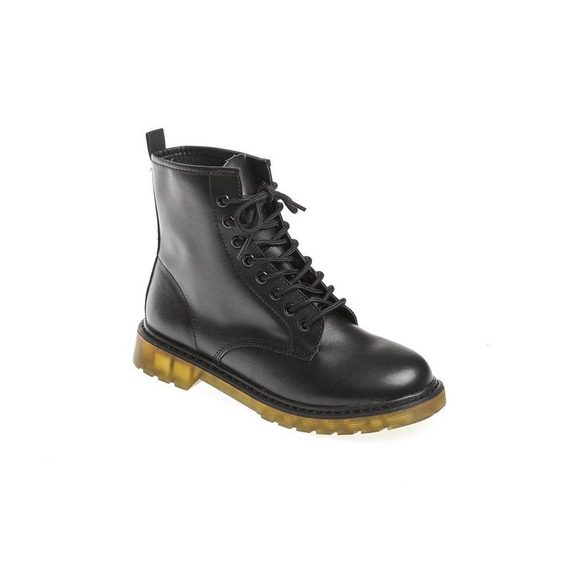 Boots lacets femme