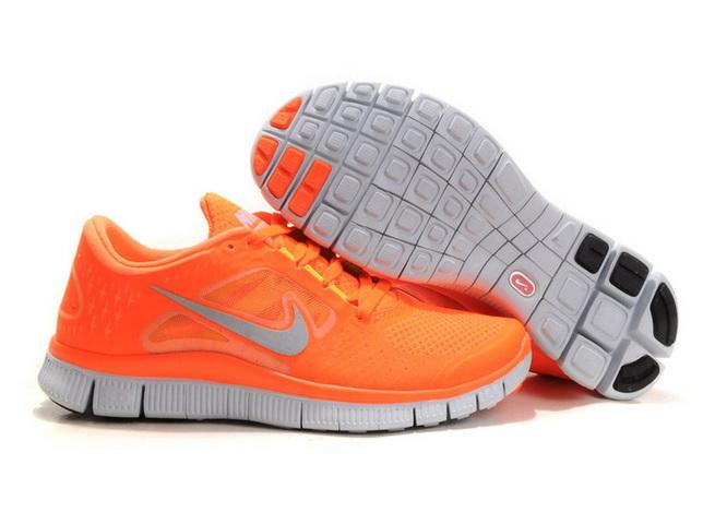 Nike running orange fluo