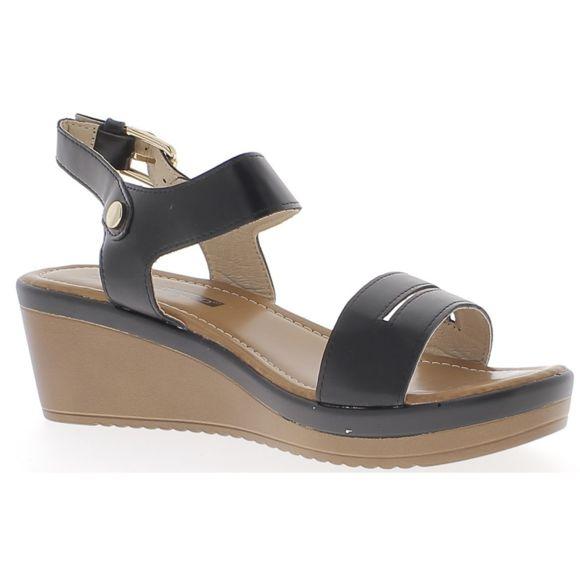 Chaussures compensées talon 6 cm