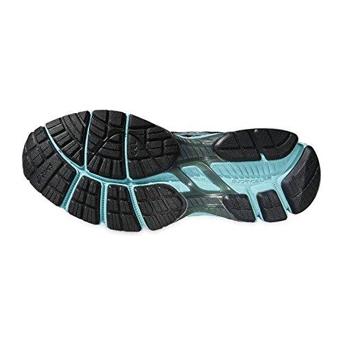 Chaussures de running gel-convector 2 - noir et bleu - duomax