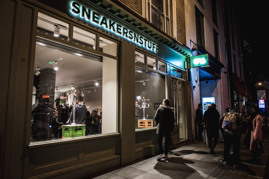 Sneakersnstuff london address