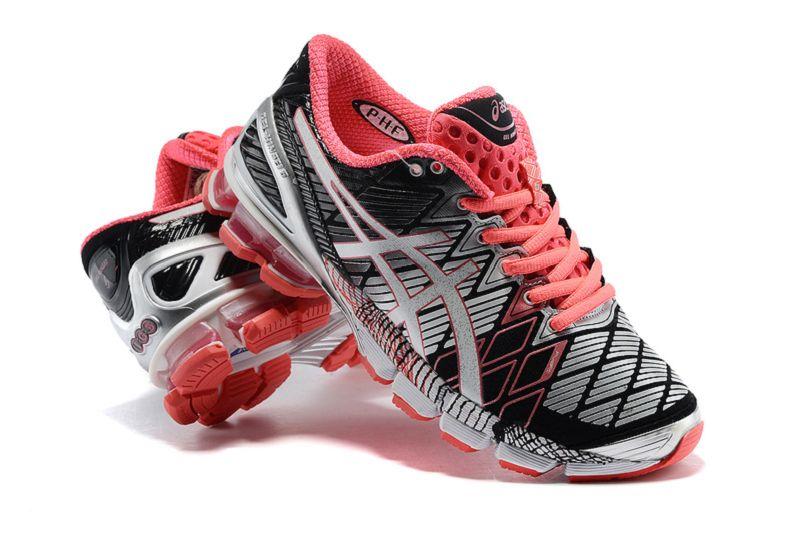 Chaussures running homme gel kinsei 5 noir rouge asics