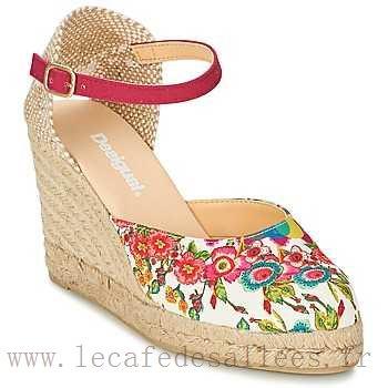Chaussure femme desigual compensé