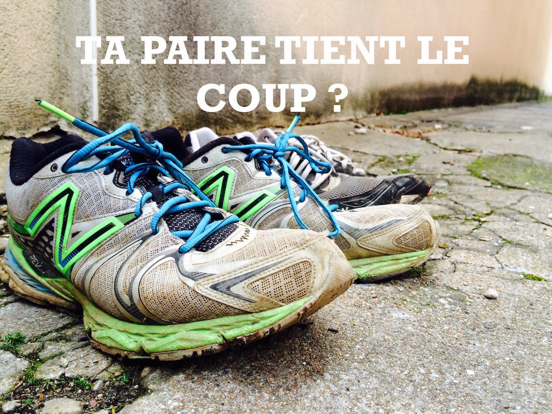 Reparer chaussure running
