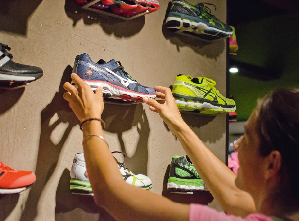 Chaussures running anti mal de dos