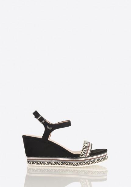 Chaussure compensée kaporal