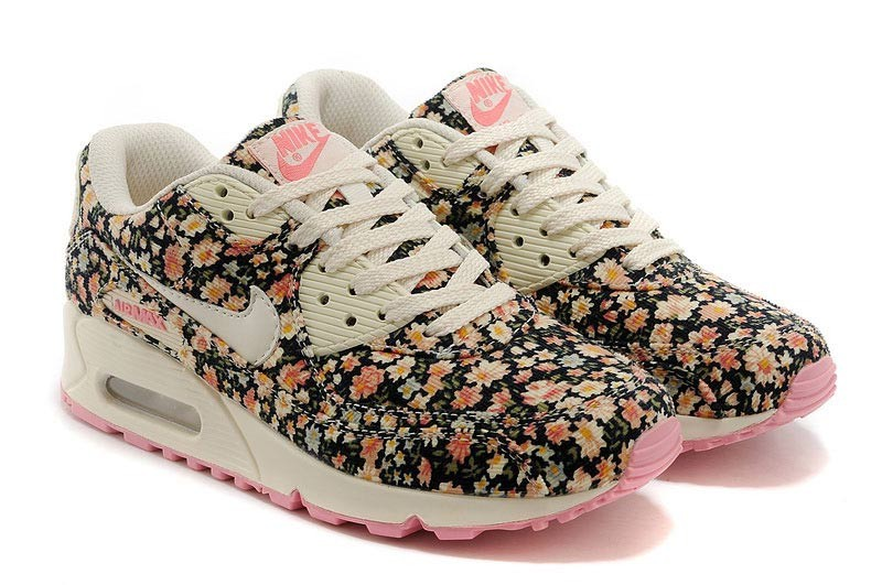 Sneakers femme fleur
