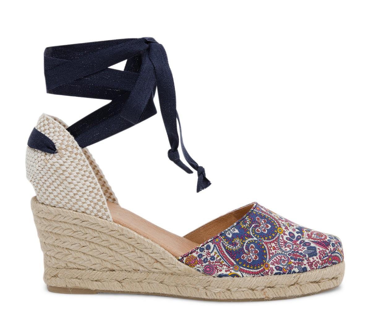 Chaussure espadrille compensee femme