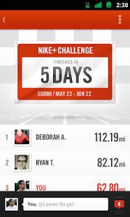 Nike running 1.5 apk