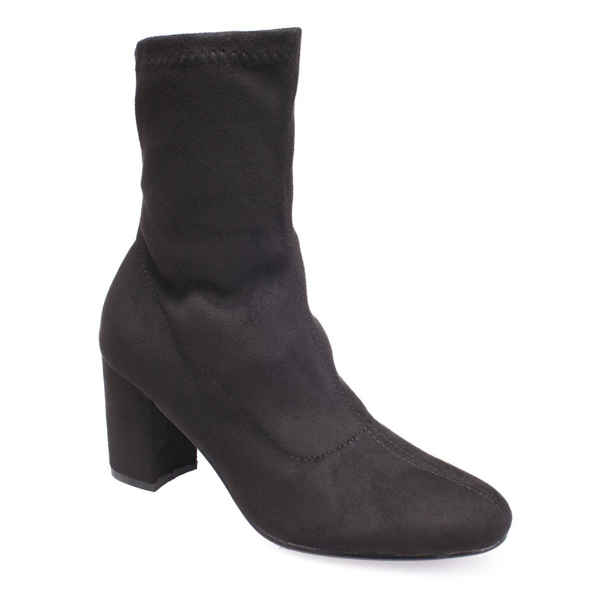 Bottines chaussettes pour femme