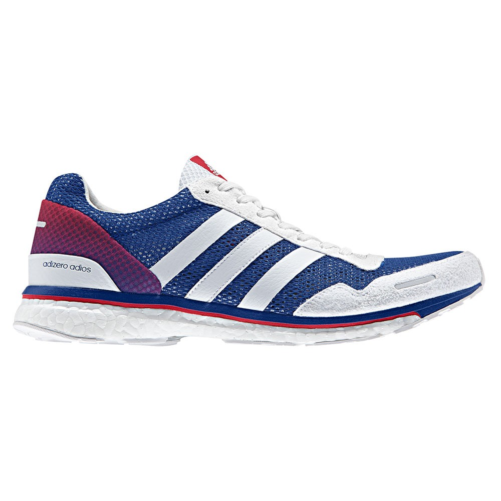 Chaussure running adidas rouge