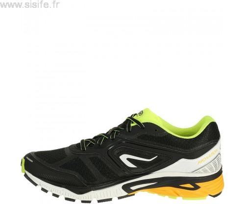 Chaussures de running homme kiprun ld gris jaune kalenji