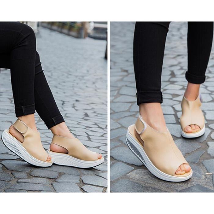 Chaussures femme compensées espagne