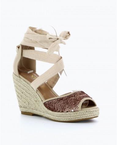 Site chaussure compensée femme