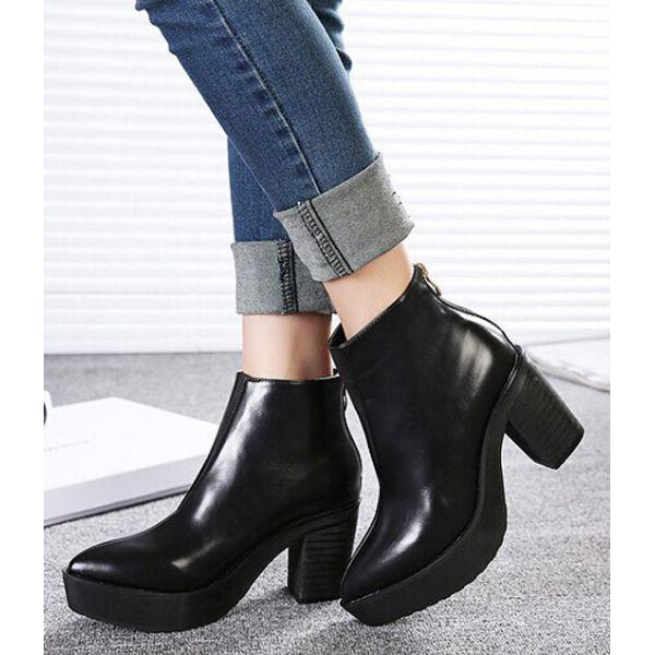 Demi bottes pour femme