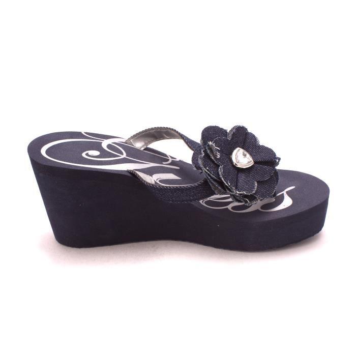 Chaussures compensées femme guess