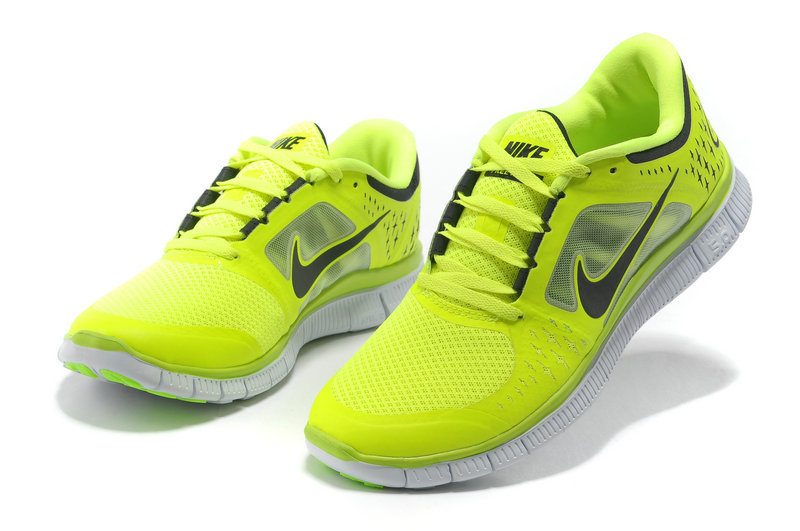 Chaussures Jaune Free Homme Fluo Running Nike 5 0 dWxBoerC