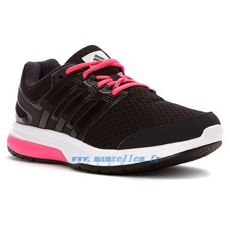 Chaussure de running femme adidas turbo elite noir rose adidas
