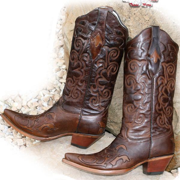 Bottines femme cowboy