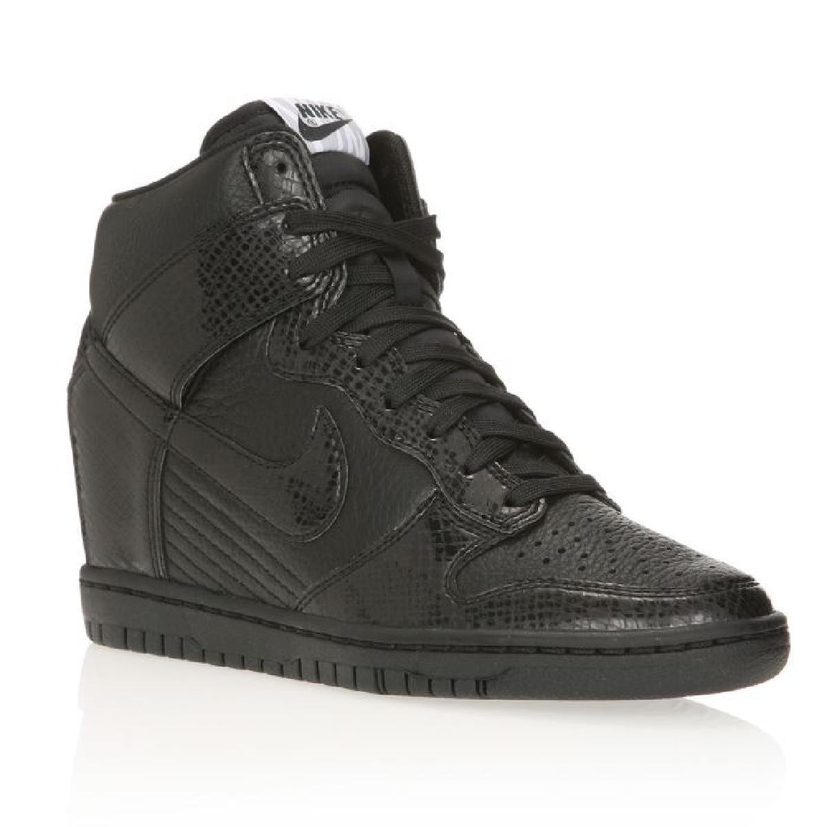 Chaussure compensee nike noir