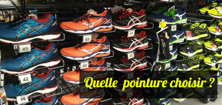 Conseil taille chaussure running
