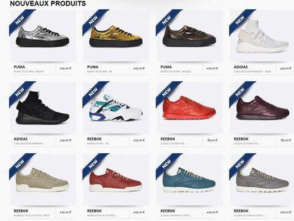 Sneakers site