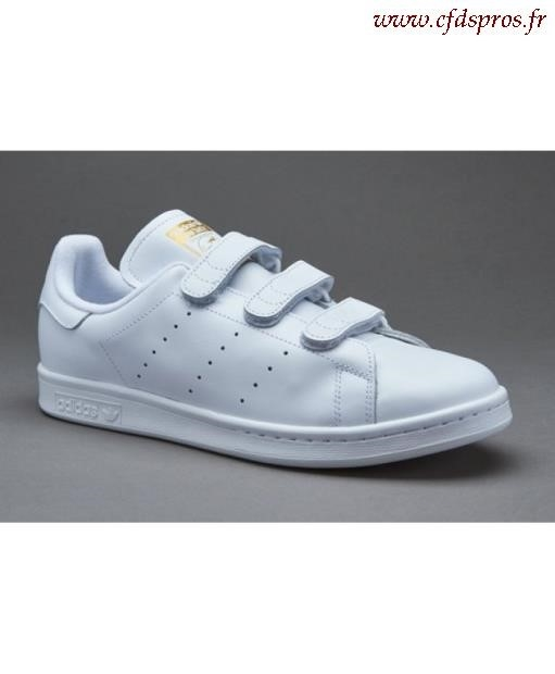 stan smith femme a scratch blanche