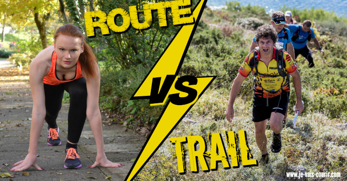 Difference entre chaussure running et trail