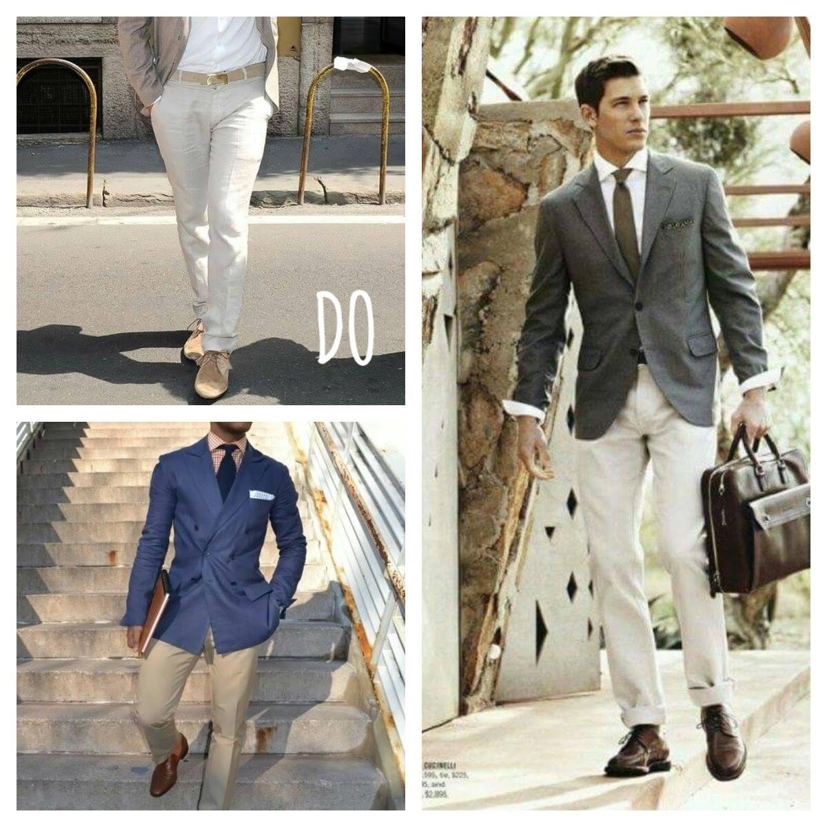 Chaussure pour costume en lin