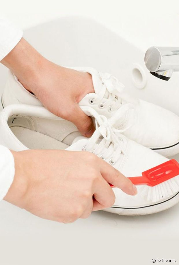 Comment nettoyer espadrilles blanches