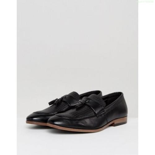 Chaussure de ville noir tissu