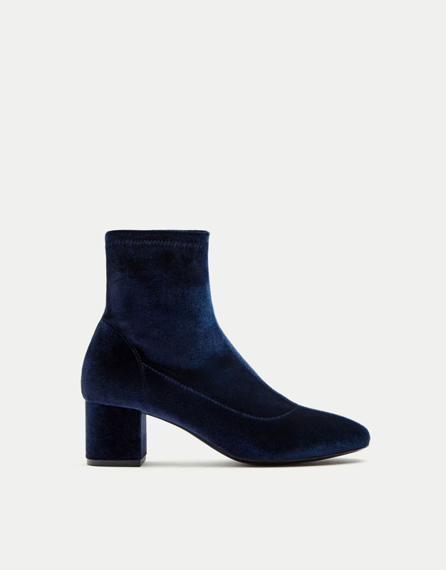 Bottine chaussette femme