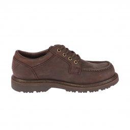 Chaussure de ville homme marron foncé
