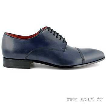 Chaussure de ville bleu foncé