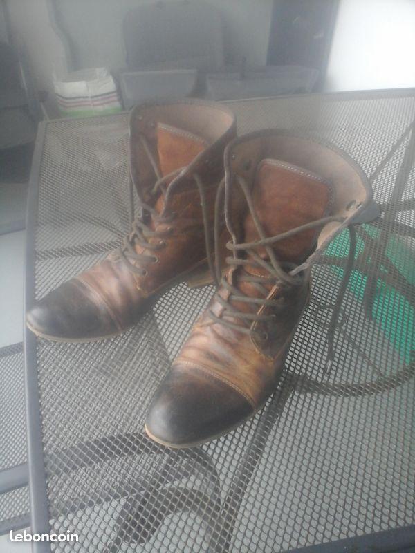 Chaussure de ville haute homme