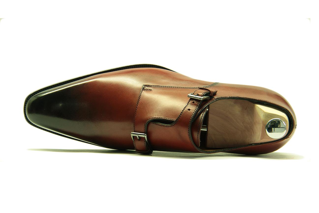 Chaussure de ville double boucle