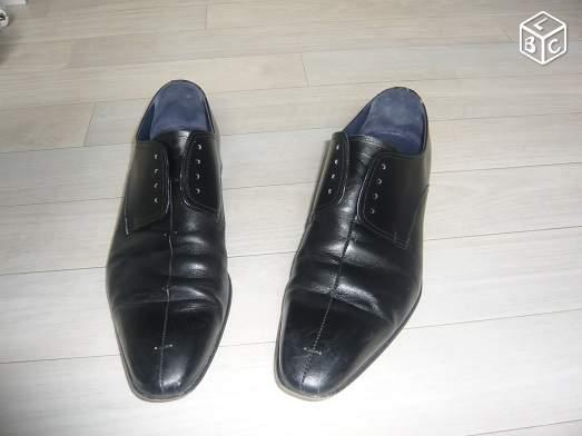Chaussure de ville haute