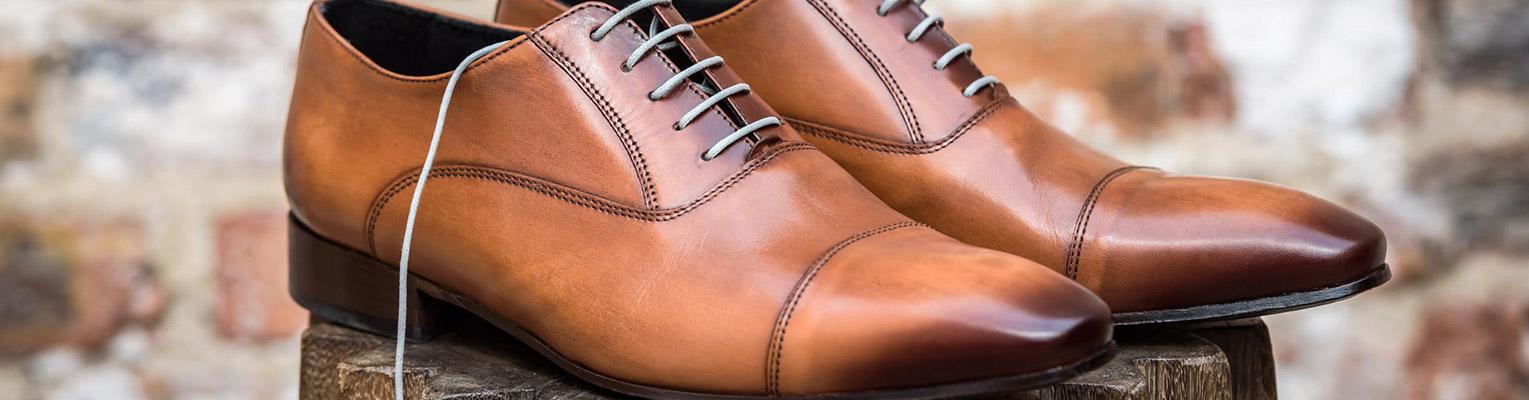Chaussure de ville homme couleur camel