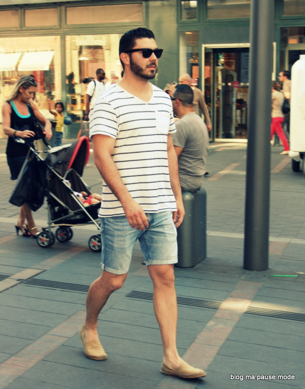 Espadrilles homme style