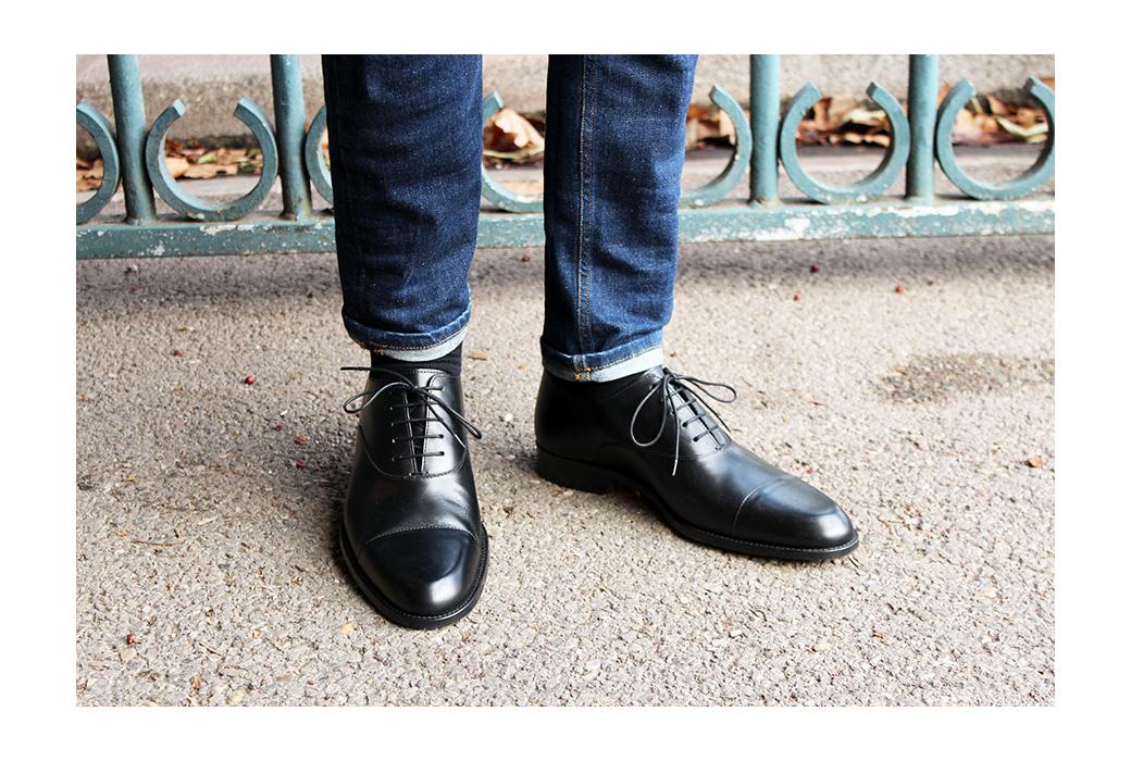 Chaussure de ville homme jean