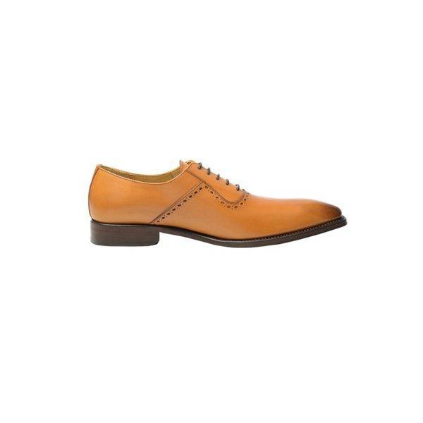 Chaussure de ville homme cognac