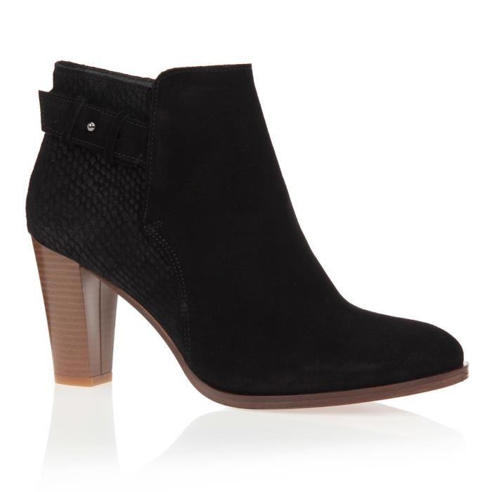Chaussure femme bottine talon