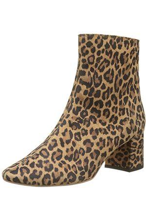 Bottine femme léopard