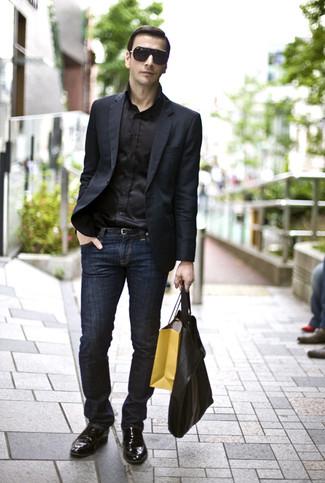 Chaussure de ville jean