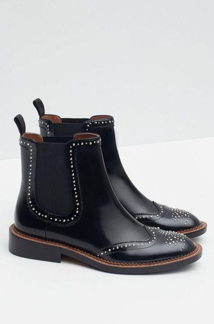 Zara femme chaussure bottine