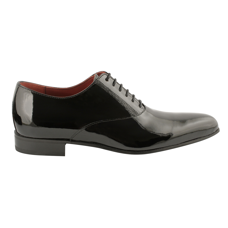 Chaussure de ville homme noir vernis